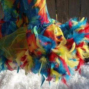 Costumes - A wish come true,little birt dress sz 12-14